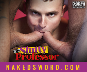 The Slutty Professor at Naked Sword